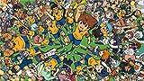 XHJY Puzzles para Adultos De 1000 Piezas Juguete Educativo Intelectual De Descompresión Divertido Juego Familiar para Niños Adultos, 29.5 X 20In,Inazuma Eleven Strikers