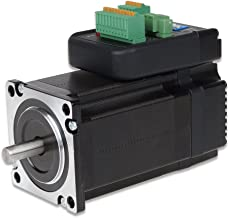 UCONTRO iHSS57-36-20 CNC Closed-Loop NEMA 23 Integrated Stepper Motor with Driver Step+direction 57mm 36VDC 2N.M Shaft D=8mm for CNC, Printing, Lazer, Textile machine (Length 106mm)