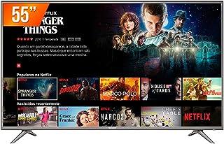 Smart TV LED 55'' Ultra HD 4K Semp 55SK6200 3 HDMI 2 USB Wi-Fi