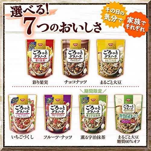 日清シスコごろっとグラノーラチョコナッツ400g×6袋