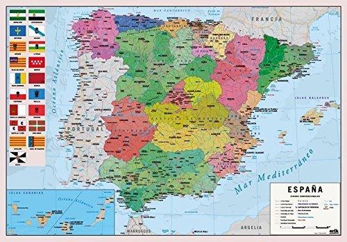 Grupo Erik Editores Vade Escolar Mapa España