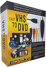 [2018 به روز شده است] مبدل VHS به دیجیتال برای ویندوز 10 ، دستگاه ضبط کارت صوتی ویدئو USB2.0 ، پشتیبانی از مبدل VHS به DVD ویندوز 10/8/7 / XP / VISTA / تبدیل فیلم آنالوگ به قالب دیجیتال