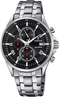 Festina F6853/4 For Men - Analog Casual Watch Stainless Steel