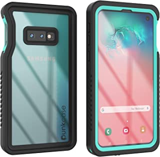 Punkcase S10e Waterproof Case [Extreme Series] [Slim Fit] [IP68 Certified] [Shockproof] [Dirtproof] [Snowproof] Armor Cover Compatible W/Samsung Galaxy S10e turquoise