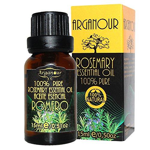 Arganour. Aceite Esencial De Romero 15 Ml. 1500 g