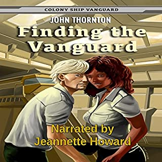Finding the Vanguard audiobook cover art