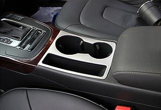 Meow Star - Marco de Chapa cromada para portavasos de Audi A4 B8/A5 (