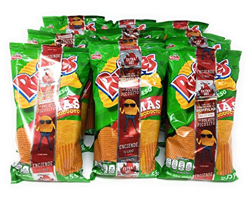 Sabritas Ruffles Queso Bundle of 12 Bags (1.94oz)