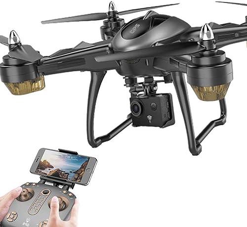 Drone [Avion à Quatre Axes] GPS Intelligent Positioning HD Antenne Télécomhommede Avion [UAV] Caméra Aérienne de Vol 4K