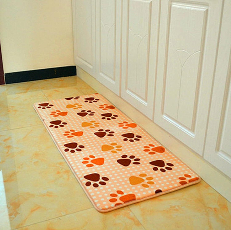 Doormats Living Room Balcony Floor mats Bedroom The Kitchen Porch Water-Absorbing mats Strip pad-I 70x140cm(28x55inch)
