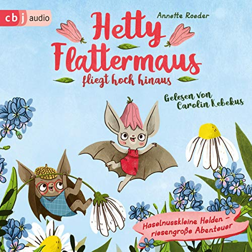 Page de couverture de Hetty Flattermaus fliegt hoch hinaus