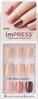 Kiss imPress Press-On Manicure Nails Fall Colors 83002 Autumn