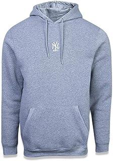 Moletom New Era MLB New York Yankees Essentials Basic Cinza