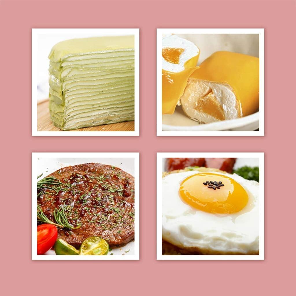 Crêpière antiadhésives Revêtement, Pancake Pan avec Healthier chimique libre non bâton, aluminium, 18cm (Color : B) C