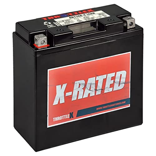 ThrottleX Batteries - ADT14B-4 - AGM Replacement Power Sport Battery