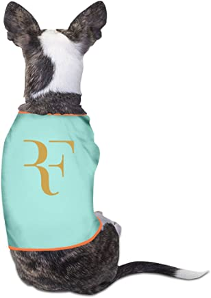 Gdfeh Roger Federer logo Daily Pet Dog vestiti t-shirt cappotto Pet abbigliamento costumi nuovo
