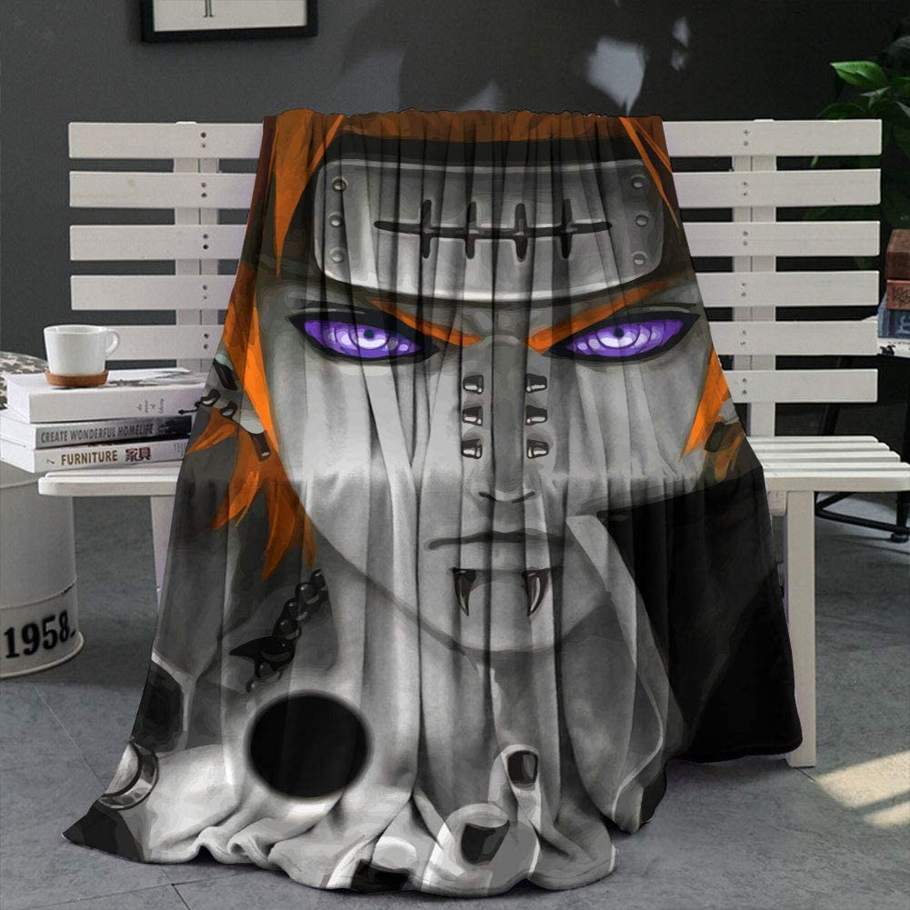 Taille WANFJCTHC Couverture polaire Naruto Second Tsuchikage 127 x 101 cm