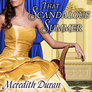 That Scandalous Summer audiobook cover art