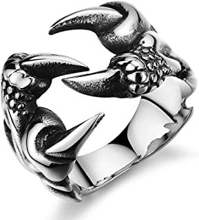 Creative Jewelry Men's Stainless Steel Polished Ring