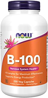 Now B-100 Vitamin Nervous System Health Dietary Supplement