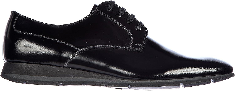 Prada Herrenschuhe Leder Herren Business Schuhe Schnürschuhe Schnürschuhe Schnürschuhe Derby Spazzolato so B071W61VPX 3c6abd