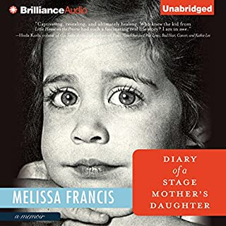 Diary of a Stage Mother's Daughter audiobook cover art