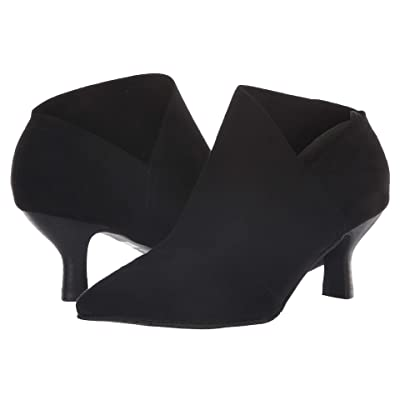 Adrianna Papell Hayes (Black Stretch Microsuede) Women