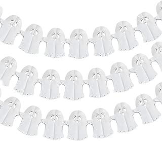 Bobee Halloween Ghost Banners Set of 3, 10 Feet Each