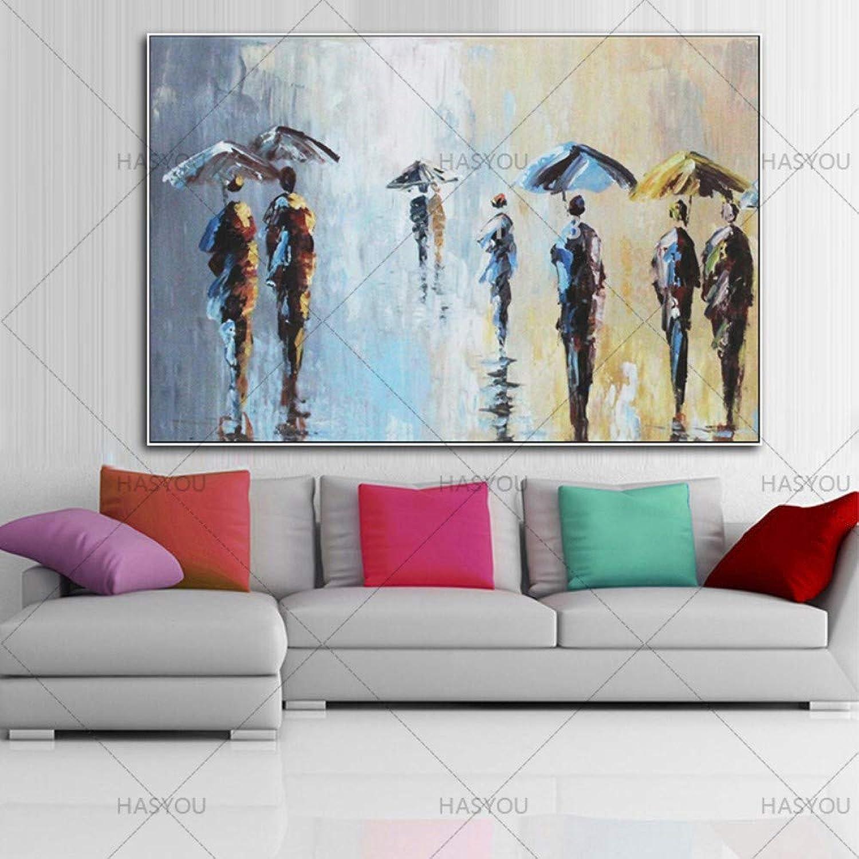 solo para ti ZJMI Pintura Pintura Pintura Decorativa Decoración Abstracta Paisaje Pintado a Mano de la Pintura sobre Lienzo para salón de Arte de Parojo decoración decoración del hogar no enmarcado-60×90cm  Entrega gratuita y rápida disponible.