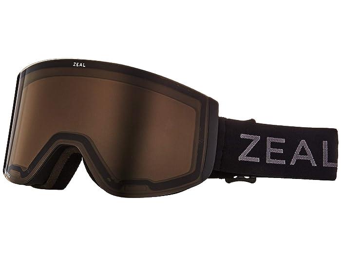 Zeal Optics Hatchet (Dark Night w/ Automatic+ GB + Sky Blue Mirror) Snow Goggles