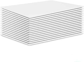 """Pack of 20 Foam Boards, Acrux7 11"""" X 14"""" X 0.12"""" Foam Core Baking Boards Polystyrene Poster Board Signboard for Presentati..."""