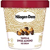 Haagen-Dazs, Vanilla Swiss Almond Ice Cream, Pint (8 Count)