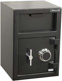 Honeywell Safes & Door Locks - 5911 Steel Depository Security Safe with Spy-Proof 4 Digit Combination Lock, 1.06 Cubic Fee...