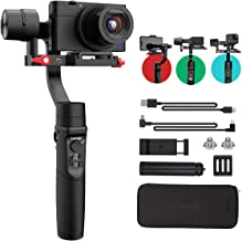 Hohem iSteady Multi Gimbal 3-Axis Handheld Gimbal Stabilizer for Digital Camera Sony RX100 Series, Action Camera GoPro and Smartphone (Black)