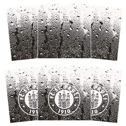 FC St. Pauli 6er Set Fliesenaufkleber Fliesenfolie Bad Küche Deko 15 x 15 cm Fliesen (3 x 2 Aufkleber) Logo
