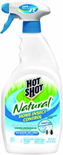 Hot Shot 95846 Insect Killer, 24 fl. oz, Liquid Spray, Brown/A