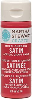 Martha Stewart Crafts Multi-Surface Satin Acrylic Craft Paint in Assorted Colors (2-Ounce), 32050 Habanero