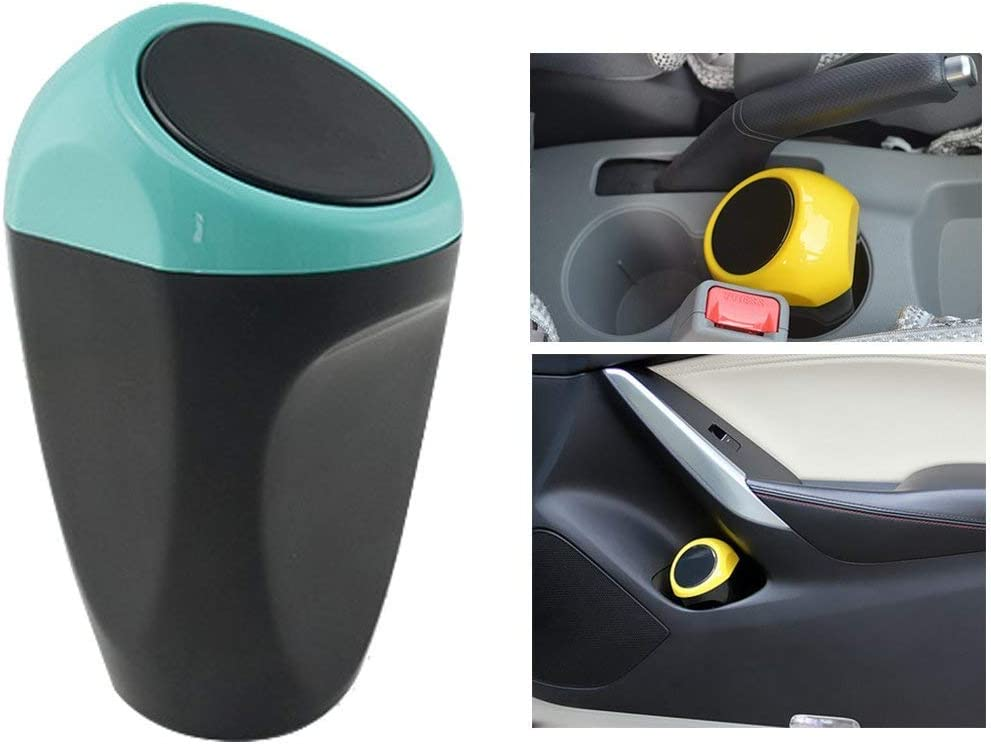 KRAMOO Car Auto Free shipping on posting reviews Garbage Trash Automotive Can Blue Waste online shopping Storage
