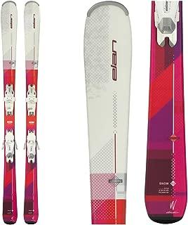 Elan Snow Womens Skis with EL 7.5 Bindings 2018 - 158cm