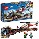LEGO City - Le transporteur d'hlicoptre - 60183 - Jeu de Construction