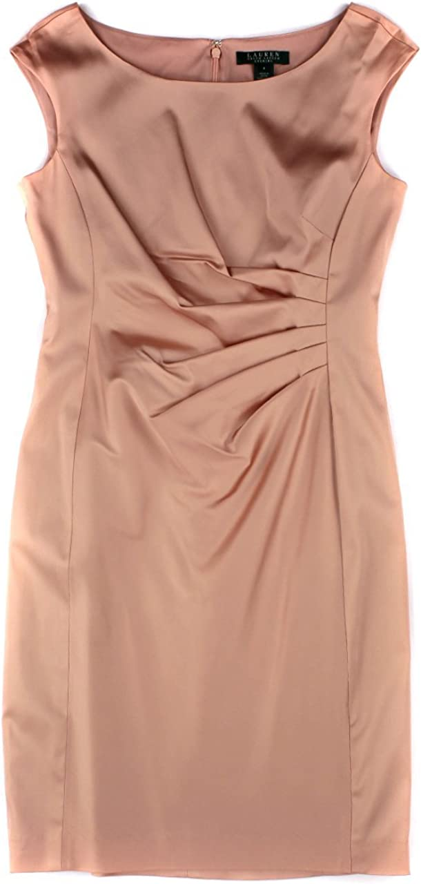 $85 MORGAN CO Pink Keyhole Spaghetti Formal Popular Direct stock discount overseas Fit Strap Flare +