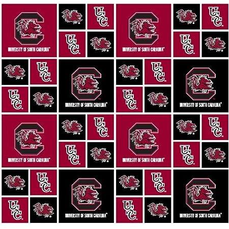 Field's Fabrics South Carolina Gamecocks FABRIC-100% Cotton -South Carolina Gamecocks Fabric