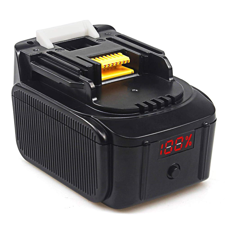 嵐が丘お勧め根拠Waitley マキタ BL1430 14.4v 互換 バッテリー 6.0Ah 6000mAh 大容量 リチウムイオン電池 BL1430 BL1440 BL1450 BL1460 対応 バッテリーランプがつけてる リチウム イオン LED残量表示