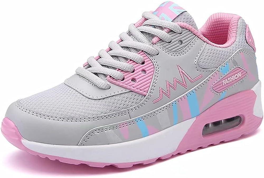 Jakcuz Women's Air Cushion Walking Lightweight Mesh Breath Ranking TOP17 Shoes Gorgeous