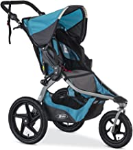 BOB Revolution Flex 2.0 Jogging Stroller - Up to 75 pounds - UPF 50+ Canopy - Adjustable Handlebar, Lagoon