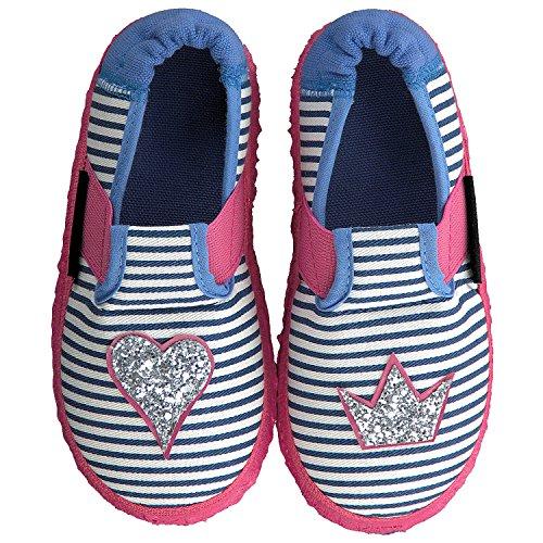 Nanga Herzklopfen, Zapatillas de Estar por casa para Niñas, Azul (Blau) 29 EU