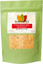 Tangerine Peel Granules | Aromatic Dried Rind | Perfect for Chinese Citric Dishes 4 oz.
