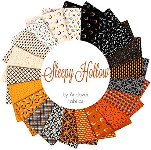 42 Halloween Sleepy Inventory Choice cleanup selling sale Hollow 10 Inch Layer Squares Andover Cake by
