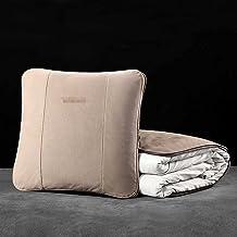 NASHDZ Car pillow quilt dual-use air conditioning quilt lumbar back pillow interior car accessories