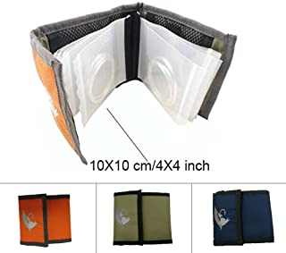 Aventik High Grade10 Pockets Fly Fishing Leader Wallet Leader Case Tippet Storage for Fly Fishing Great for Pre-Tied Carp and Catfish Rigs